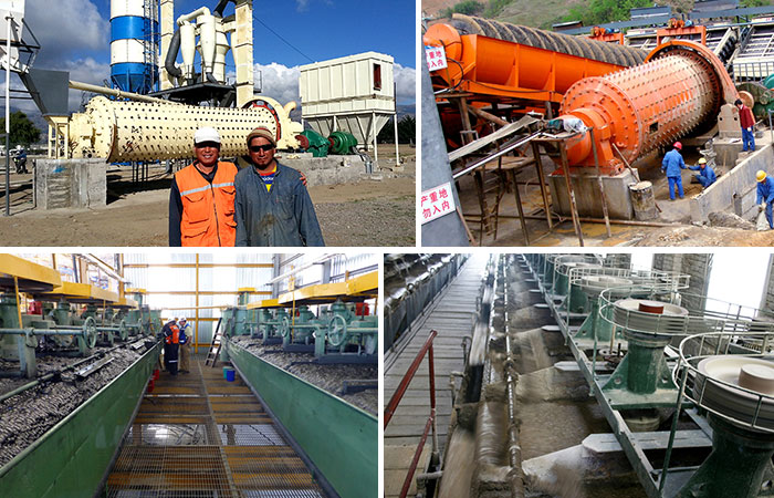 Scheelite/Tungsten Ore Beneficiation Production Line