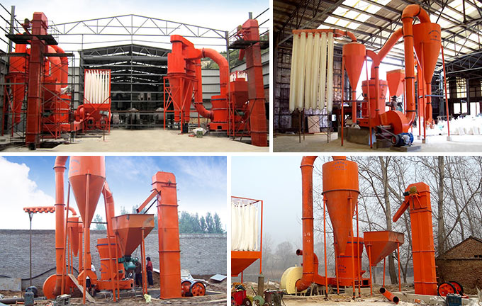 Hongxing Boron Grinding Mill Production site