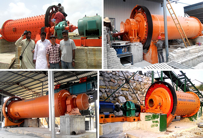 China Ball Mill Work Site