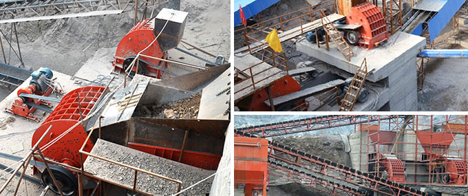 Hammer Crusher Production Site