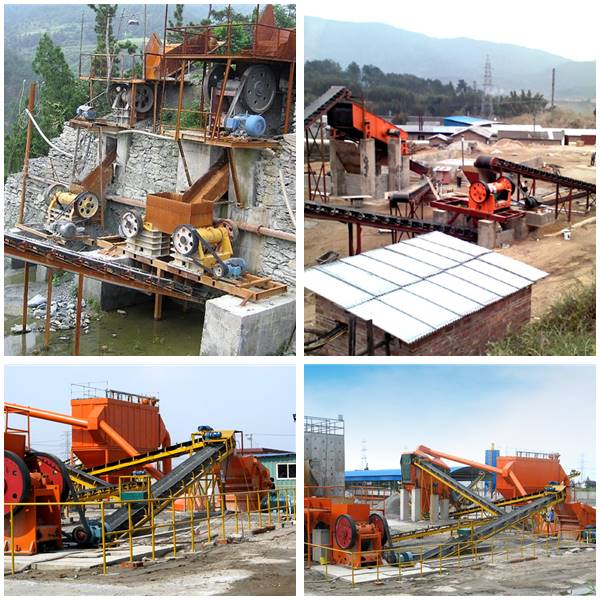 Double Toggle Jaw Crusher Work Site