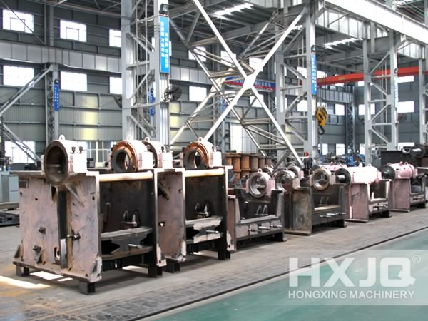Jaw Crushing Plant Semi-finished Products