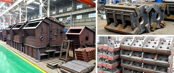 Impact Crusher Semi-finished Products