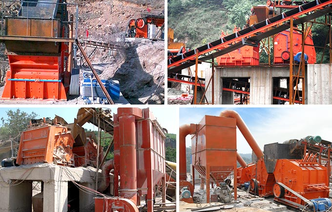 Impact Crusher Production Site