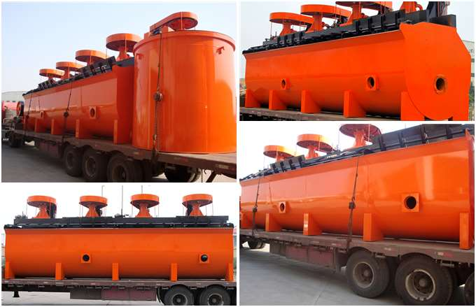 Flotation Machine Delivery Site