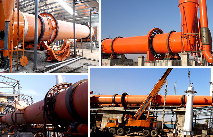 Rotary Dryer Production Site