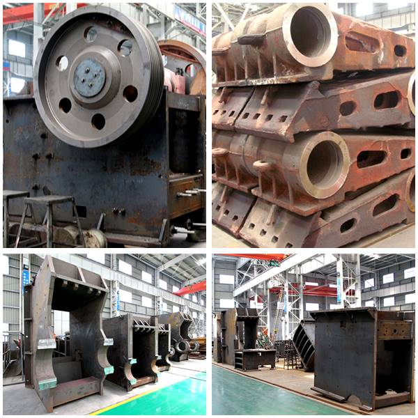 PE Jaw Crusher Semi-finished Products