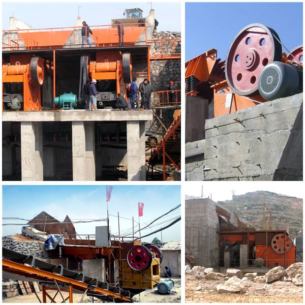PEX Jaw Crusher Work Site