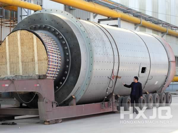 Cement Mill Operation : Cement mill ball complete hxjq