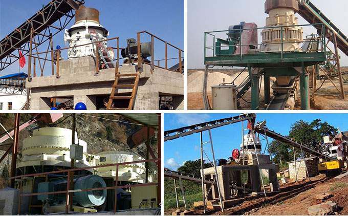 Cone Crusher Production site