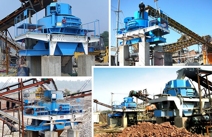Sand Making Machine Production Site